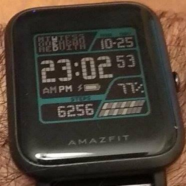 Digital Sky Watchface For Amazfit Bip Amazfit Central